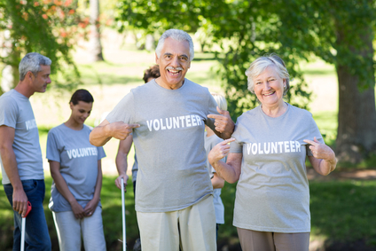 Senior volunteers