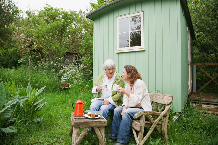 Granny pods a senior housing option in your own backyard for Seniors house