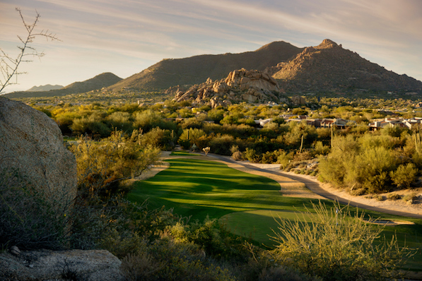 Arizona landscape, Scottsdale, Phoenix area,USA