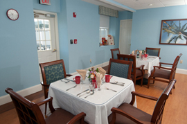Academy Point at Mystic, CT - Community Dining Room