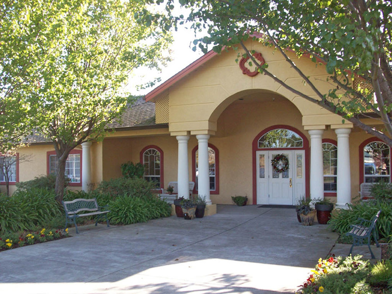 Adobe House of Petaluma, CA - Entrance