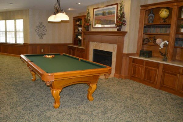 Allison Meadows Assisted Living - Game Room