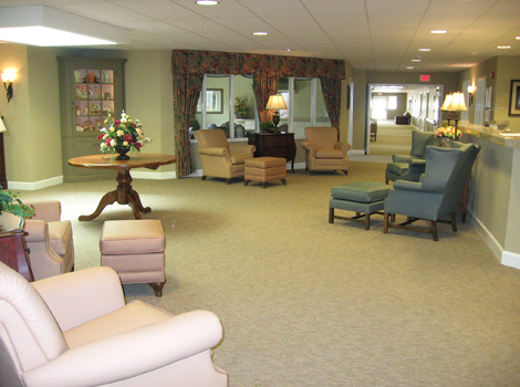 Amber Glen Alzheimer's Special Care Center - Urbana, IL - Gathering Area