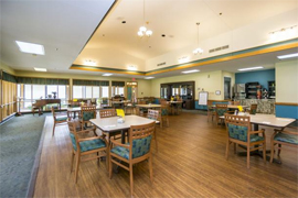 Angelwood Assisted Living - Clinton, OK - Dining Room