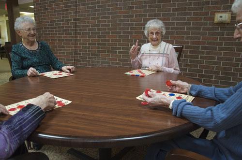 Arbor Court Retirement Community at Salina - Salina, KS - Game Time