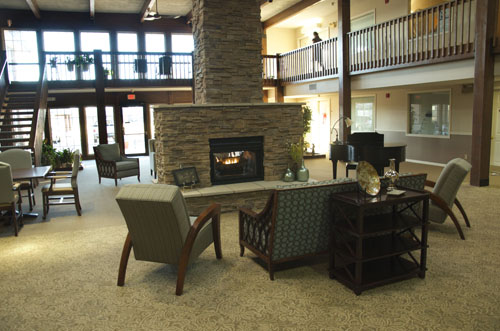 Arbor Court Retirement Community at Salina - Salina, KS - Lobby and Lounge