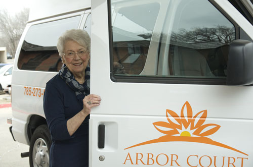 Arbor Court Retirement Community at Topeka - Topeka, KS - Transportation
