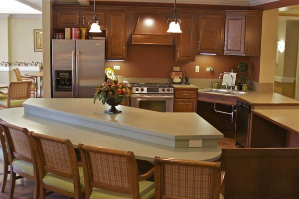 The Residences on Greenbelt - Lanham, MD - Community Kitchen