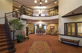 Armour Oaks Senior Living Community - Kansas City, MO - Lobby