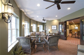 Armour Oaks Senior Living Community - Kansas City, MO - Sunroom