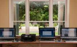 Ashland Farm at North Andover, MA - Computer Room