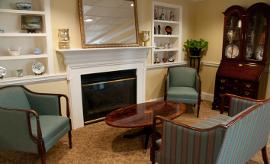 Ashland Farm at North Andover, MA - Fireplace Lounge