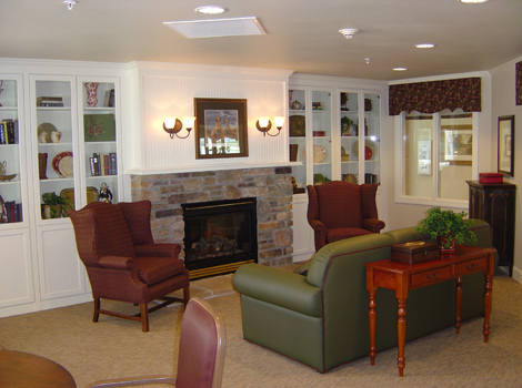 Aspen Ridge Alzheimer's Special Care Center - Grand Junction, CO - Living Room