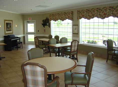Aspen Ridge Alzheimer's Special Care Center - Grand Junction, CO - Dining Room