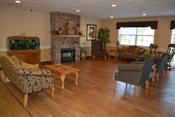 Autumn Ridge Rehabilitation Centre - Wabash, IN - Fireplace Lounge