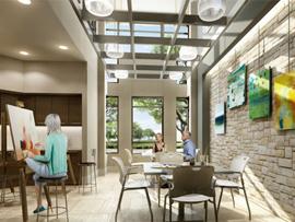 Avanti Senior Living-Flowermound,TX-Art studio