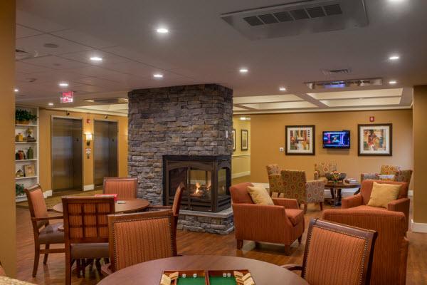 Bedford Falls - Bedford, NH - Fireplace Lounge