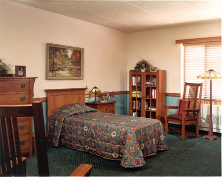 Belle Reve Senior Living Center Residential Care & Memory Care Community - Milford, PA - Bedroom