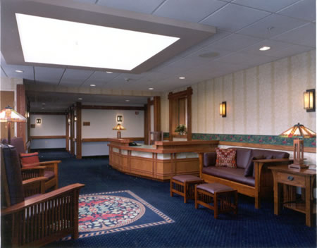 Belle Reve Senior Living Center Residential Care & Memory Care Community - Milford, PA - Sitting Area