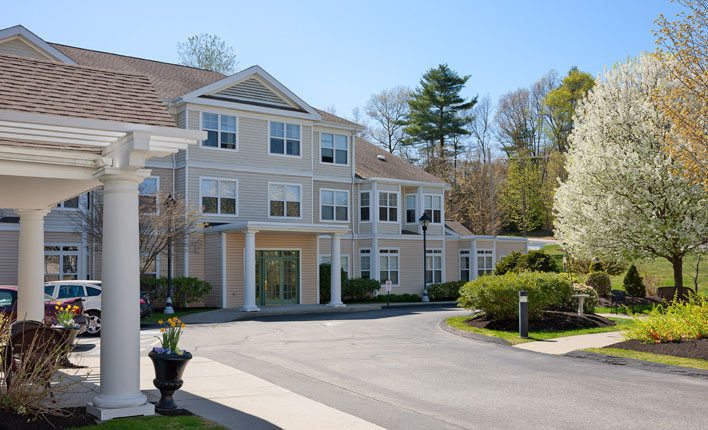 Benchmark Senior Living at Forge Hill - Franklin, MA - Exterior