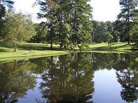 Benedictine Manor - Cullman, AL - Pond