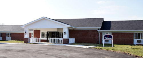Betz Nursing Home - Auburn, IN - Exterior