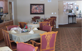 Bickford of Ames, IA - Dining Room