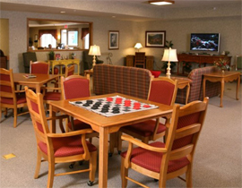 Bickford of Lancaster, OH - Game Room