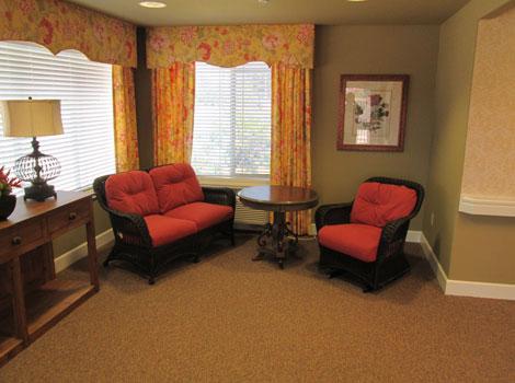 Blossom Grove Alzheimer's Special Care Center - Redlands, CA - Living Room