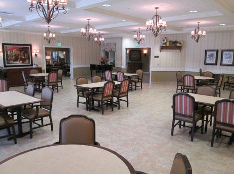 Blossom Grove Alzheimer's Special Care Center - Redlands, CA - Dining Area