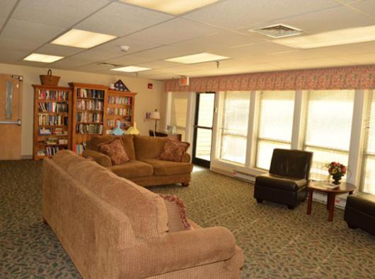Brookdale Dover, DE - Library