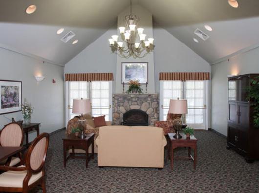 Brookdale Hutchinson, KS - Common Room