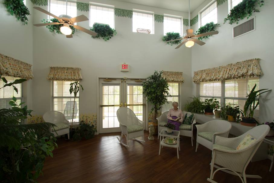 Brookstone Assisted Living - Fayetteville, AR - Sunroom