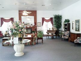 Carriage House Assisted Living - Denton, TX - Living Room