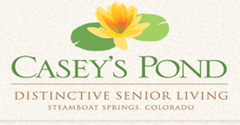 Casey's Pond - Steamboat Springs, CO - Logo