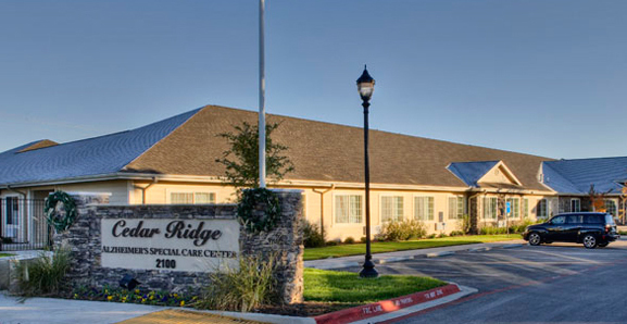 Cedar Ridge Alzheimer's Special Care Center - Cedar Ridge, TX - Exterior