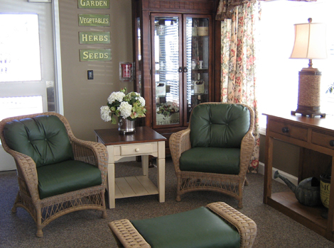 Cedar Ridge Alzheimer's Special Care Center - Cedar Ridge, TX - Gathering Area