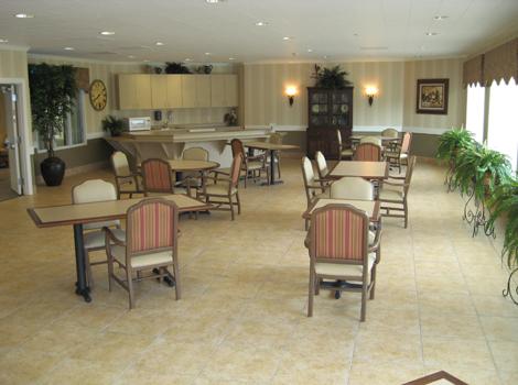 Cinco Ranch Alzheimer's Special Care Center - Katy, TX - Dining Room