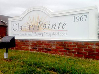 Clarity Pointe Fayetteville, AR - Exterior Sign