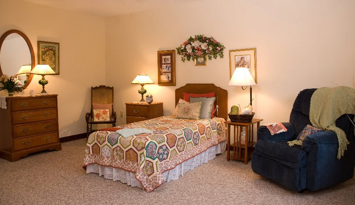 Commonwealth Assisted Living at Radford, VA - Apartment Bedroom