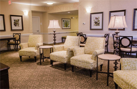 Country Place Senior Living of Atmore, AL - Sitting Area
