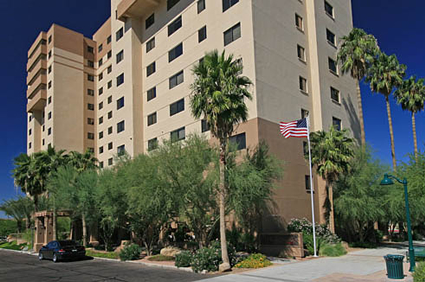 Courtyard Towers - Mesa, AZ - Exterior
