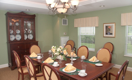 Crescent Point at Niantic, CT - Dining Room