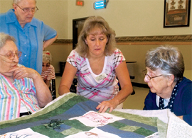 Devonshire Acres - Sterling, CO - Quilting Class