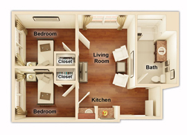Dominion Senior Living of Hixson - Chattanooga, TN - Floor Plan