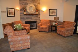 Eagle Valley Meadows - Indianapolis, IN - Fireplace Lounge