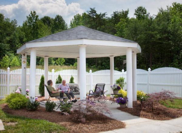 Edenton Primetime Retirement Center, NC - Gazebo