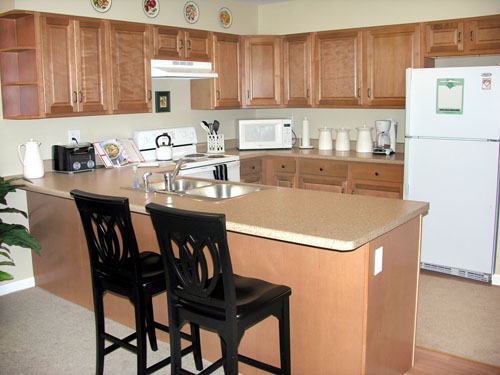 Elderwood Residences at Wheatfield - Niagara Falls, NY - Kitchen