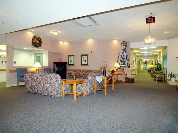 Elmcroft of Lewisburg, PA - TV Room