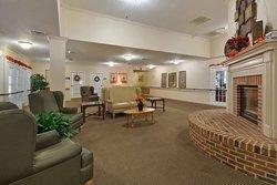 Elmcroft of Martinsburg, WV - Fireplace Lounge